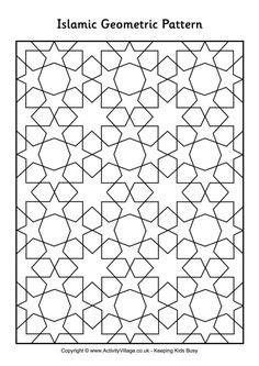 vector islamic window shapes - stock vector … | Pinterest