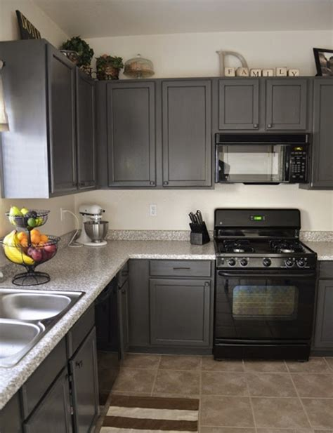 charcoal painted kitchen cabinets all about grey kitchen cabinets my home design journey 5234