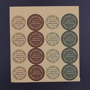 aliexpresscom buy 480x retro diy kraft handmade soap With how to make sticker labels