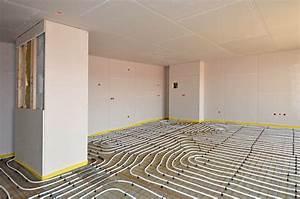 Chauffage Au Sol : plancher chauffant prix moyen avantages et inconv nients ~ Premium-room.com Idées de Décoration