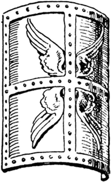 roman scutum clipart