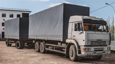 Kamaz 4326 / 43118 / 6350 / 65221 V1.0 Truck Mod -euro
