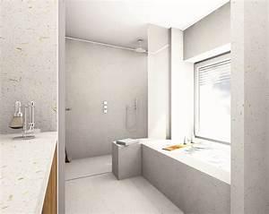 Fugenlose Wandverkleidung Bad : fugenlose wandverkleidung dusche ~ Frokenaadalensverden.com Haus und Dekorationen