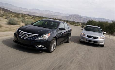 Comparison Hyundai Sonata Vs Honda Accord