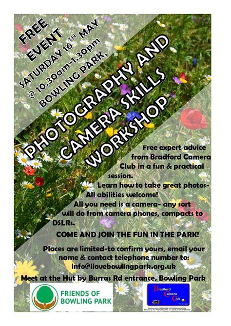 FREE photography and camera skills workshop-Saturday 16th ...