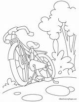 Coloring Mountain Bike Pages Bicycle Mountaineer Biking Template Bestcoloringpages Botero Printables Fernando Sheets Popular sketch template