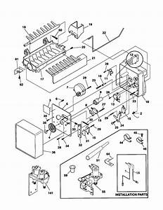 Frigidaire Side By Side Refrigerator Wiring Diagram Parts