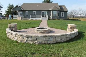 Grill patio remote fire pit 9 rd landscape for Patio with firepit and grill