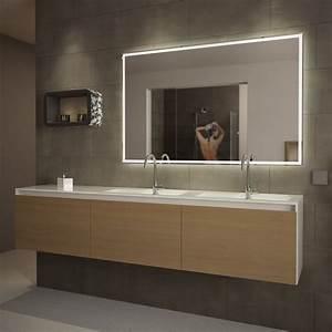 Leuchte Für Spiegel : design led badezimmerspiegel badspiegel wandspiegel lichtspiegel warmwei top ebay ~ Whattoseeinmadrid.com Haus und Dekorationen