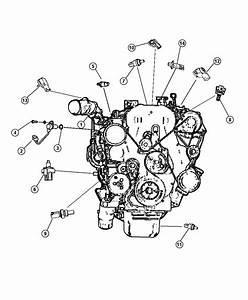 2008 Dodge Caliber Sensor  Crankshaft Position  Eba