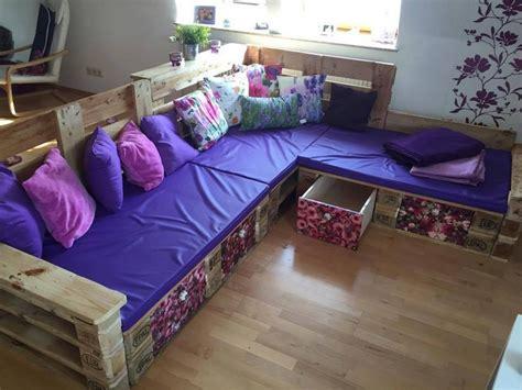 pallet corner sofa plans pallet wood projects