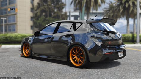 Modify Car Gta 5 by 2010 Mazda 3 Modify Add On Template Tuning Gta 5