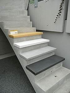Treppenstufen Außen Beton : treppenstufen aus beton treppenstufen betontreppe und treppe ~ A.2002-acura-tl-radio.info Haus und Dekorationen
