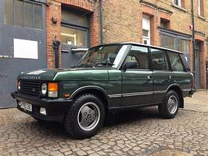My First Bloggy Experience  1990 Range Rover Classic 5