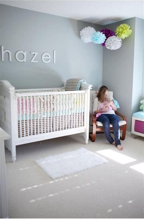 stickers chambre bebe fille peinture chambre bébé les couleurs pastel et leur charme