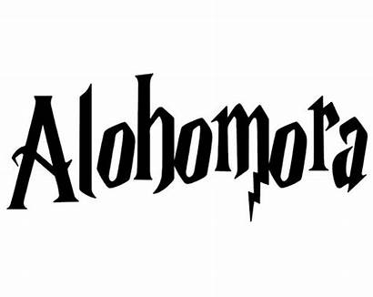 Alohomora Potter Harry Spells Know Folding Think