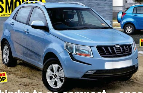 S102 Mahindra's Upcoming Compact Suv, 1l Turbo Petrol