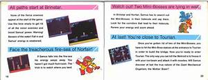 Commentary On The Metroid Instruction Manual