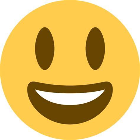 sonriendo  ojos grandes emoji