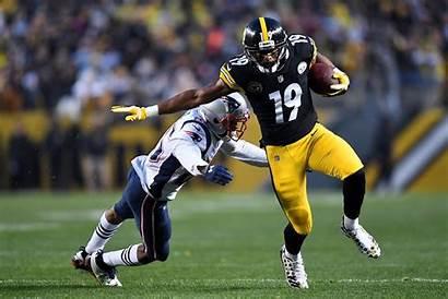 Steelers Smith Patriots Juju Schuster Catch Pittsburgh