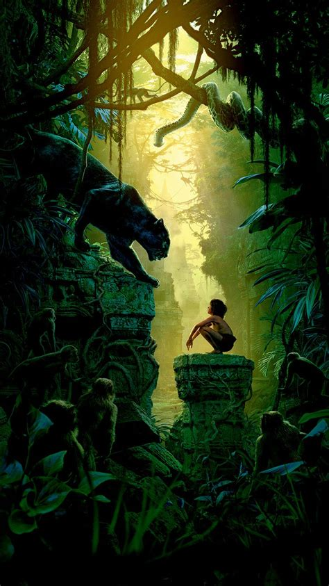 Art Film Nature Junglebook Animal  Best Wallpaper Iphone Hd