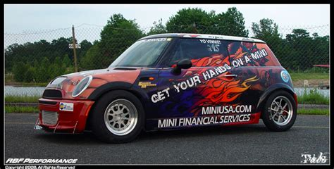 Mini Drag Car by 650 Hp Mini Cooper S Marks Brand S Foray Into Drag Racing