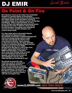 dj emir press kit media coverage of one of the worlds With dj biography template