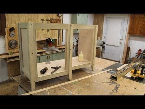 build  kitchen cabinet carcass woodworking