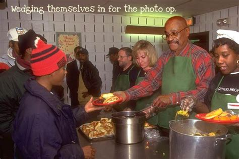 soup kitchen volunteer i laugh therefore i am a cheerful message