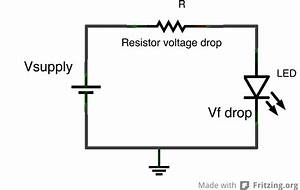 calculate voltage drop across resistor - 28 images ...