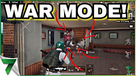 war mode  pubg mobile beta    game