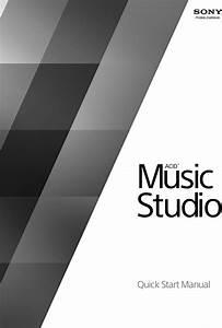 Sony Acid Music Studio 10 0 Quick Start Manual