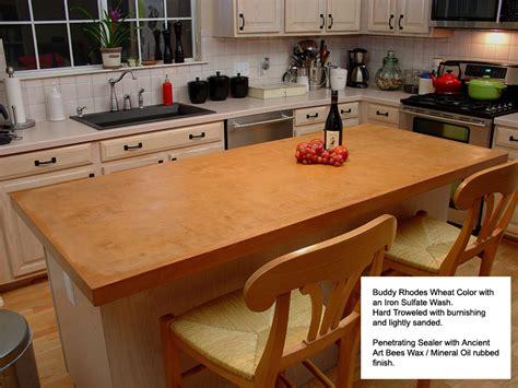kitchen countertops concrete concrete countertops