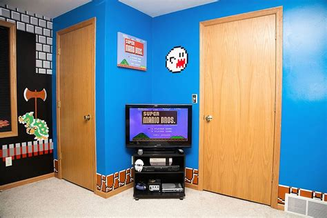 cool parents super awesome super mario room daughter