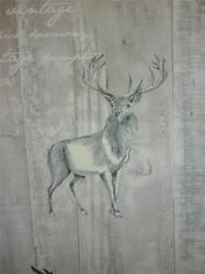 Vorhang Grau Blickdicht : deko stoff vorhang landhaus grau beige marmoriert hirsch blickdicht meterware ebay ~ Orissabook.com Haus und Dekorationen