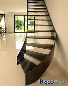 Escalier Quart Tournant Gauche : escalier quart tournant en bas et en haut ~ Dailycaller-alerts.com Idées de Décoration