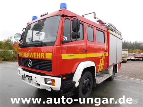 mercedes truck 4x4 used mercedes benz 917af lf8 6 feuerwehr 4x4 600liter fire