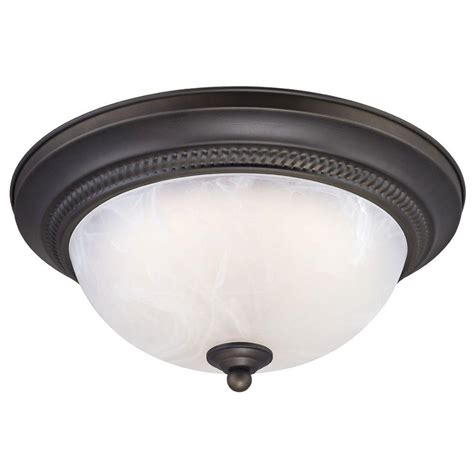 westinghouse rubbed bronze led ceiling fixture 6400800