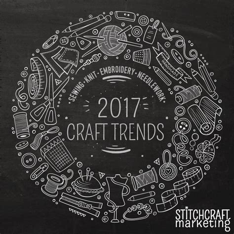 Crafting Trends For 2017 Part 1 Needles, Thread And Fabric