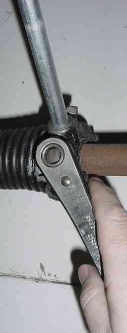 garage door coil adjustment how to adjust torsion for garage door