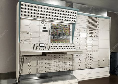 Analogue Computer Stock Image C0053470 Science