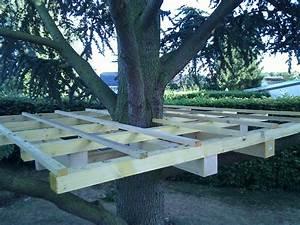 Comment Faire Une Cabane Dans Les Arbres : fabriquer une cabane en bois dans un arbre ~ Melissatoandfro.com Idées de Décoration