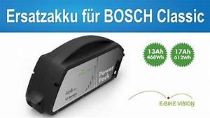 Ersatzakku E Bike Bosch : e bike vision akku f r bosch classic systeme rahmen akku ~ Kayakingforconservation.com Haus und Dekorationen