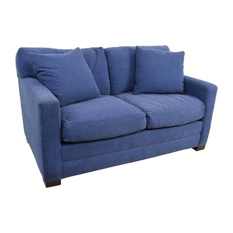 And Loveseat by 79 Industries Industries Denim Blue