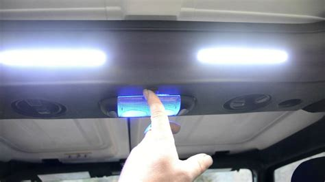 jeep jk interior light upgrade youtube