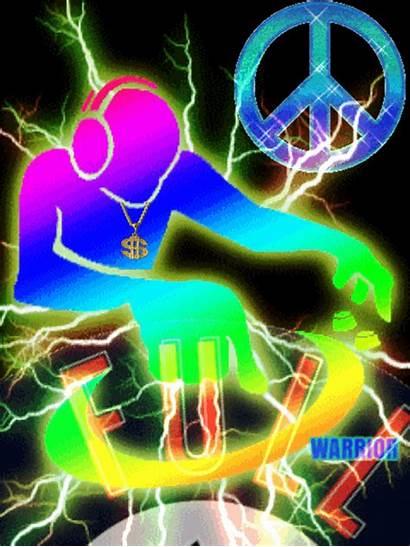 Dj Neon Signs Gifs Animation Illusions