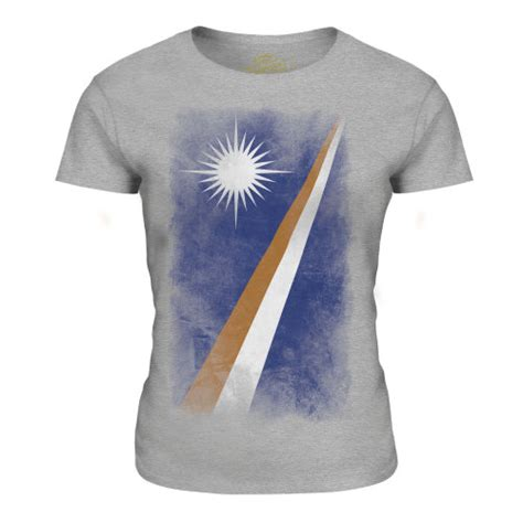 (Grey Marl, Small) Candymix - Marshall Islands Faded Flag ...