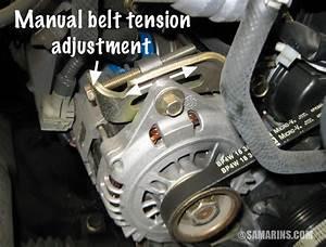 Serpentine Belt  Tensioner  Problems  Signs Of Wear  When