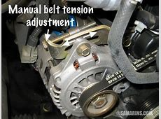 Serpentine belt, tensioner problems, signs of wear, when