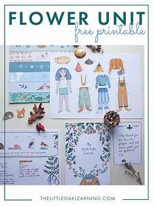 Flower Unit Free Printable  Homeschool Nature Based